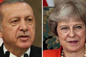 Thổ Nhĩ Kỳ cầu cứu Anh ra tay ngăn 'chiến tranh' với Mỹ