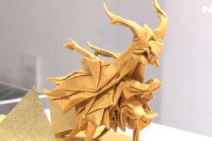 Nghệ thuật gấp giấy Origami đẹp không tưởng