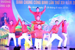 Hơn 200 diễn viên tham gia Liên hoan nghệ thuật quần chúng Binh chủng Công binh