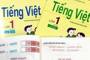 Xung quanh sách Tiếng Việt 1 Công nghệ giáo dục: Cuộc thí điểm dai dẳng
