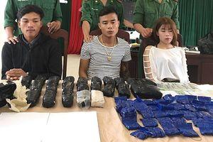 Quảng Trị: Bắt hot girl 19 tuổi trong đường dây vận chuyển ma túy