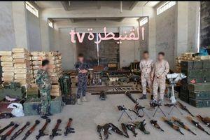 Quân đội Syria phát hiện kho vũ khí lớn gần biên giới cao nguyên Golan