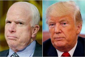 Tổng thống Trump sẽ không tham dự đám tang của ông John McCain