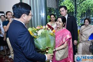 Việt Nam - Ấn Độ: Thúc đẩy quan hệ Đối tác Chiến lược toàn diện đi vào chiều sâu