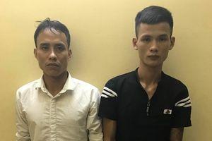 Hai gã trai cướp giật điện thoại iPhone 'sa lưới' sau 2 ngày gây án