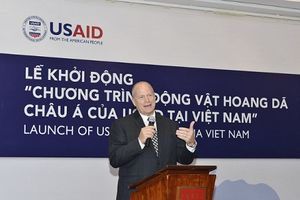 USAID khởi động chương trình nhằm giảm nhu cầu tiêu thụ sừng tê giác tại Việt Nam