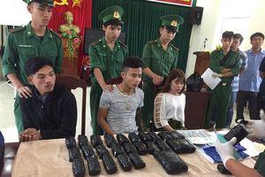 Quảng Trị: Bắt nhóm đối tượng vận chuyển ma túy qua biên giới