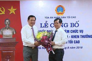 TANDTC bổ nhiệm Phó Vụ trưởng Vụ Thi đua - Khen thưởng