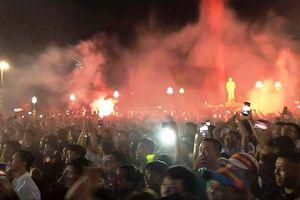 Thành Vinh 'vỡ òa' sau kỳ tích Olympic Việt Nam vào bán kết
