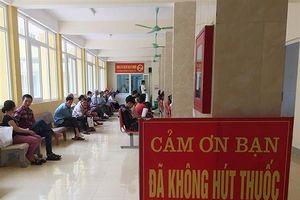 BVĐK tỉnh Hà Tĩnh: Xây dựng bệnh viện không thuốc lá