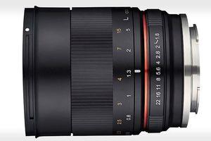 Samyang ra mắt ống kính 85mm f1.8 dành cho máy ảnh không gương lật