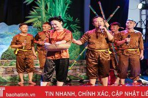 Đượm màu cổ trong Liên hoan dân ca ví, giặm Nghệ Tĩnh 2018
