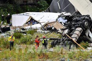 Italy tính tới quốc hữu hóa cơ sở hạ tầng sau vụ sập cầu cạn ở Genoa