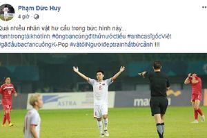 Ai bảo chỉ có 'thánh lầy' Đức Chinh, Olympic Việt Nam còn có Đức Huy 'nhây' trên mọi mặt trận