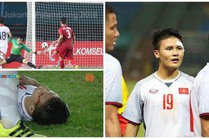 Vào được bán kết ASIAD 2018: Đừng quên những vết máu của Quang Hải và mồ hôi của toàn đội