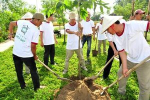 Châu Thành (Kiên Giang): Phát động trồng cây xanh bảo vệ môi trường