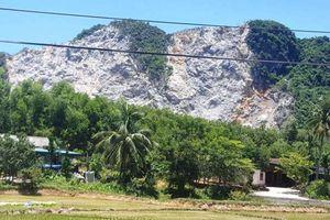 Nổ mìn khai thác đá ở Thanh Hóa: Giám đốc doanh nghiệp nói 'dân phản ánh là việc của người ta!?'