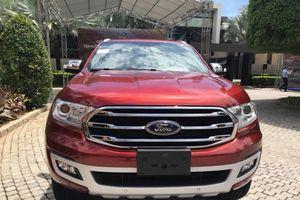 Chiều mai, Ford Everest 2018 sẽ ra mắt thị trường Việt Nam