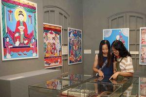 Triển lãm tranh dân gian tại Hoàng thành Thăng Long