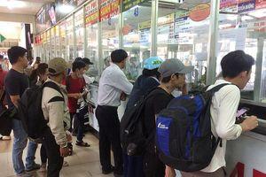 Bến xe Miền Đông: 'Cháy' vé xe đi nghỉ lễ 2-9
