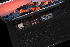 MacBook Pro xuất hiện cực đẹp trong concept mới với 2 màn hình