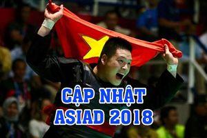 Cập nhật mới nhất ASIAD 2018 ngày 29.8: Văn Trí xuất sắc giành HCV, kỳ vọng U23 Việt Nam viết nên lịch sử