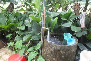 Vì sao nước sạch ở Tổng Đình vẫn chảy?