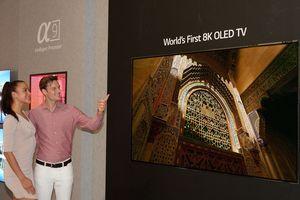LG mắt TV OLED 8K