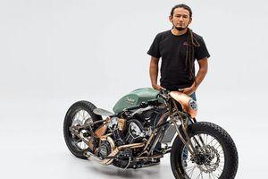 Soi xe môtô Indian độ siêu chất của kỹ sư NASA