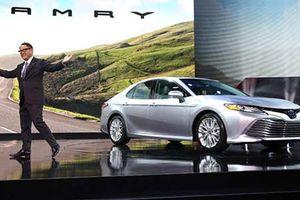 Toyota Camry thế hệ mới sắp ra mắt tại Đông Nam Á