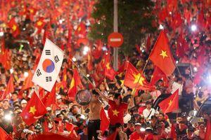 Hà Nội: Hơn 1.000 cảnh sát 'xuống đường' trước trận Việt Nam-Hàn Quốc