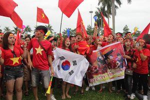Thành Vinh sôi động khi Việt Nam đá bán kết Asiad