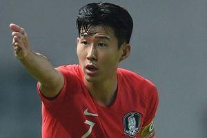 Phản ứng của Son Heung Min khi biết Olympic Hàn Quốc gặp Olympic Việt Nam