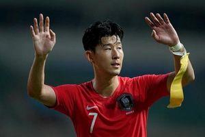Báo Anh: Olympic Việt Nam có thể khiến siêu sao Son Heung-min đi nghĩa vụ sớm