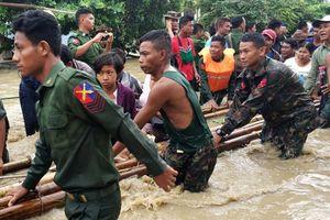 Sự cố đập ở Myanmar, hàng chục ngàn người bị ảnh hưởng