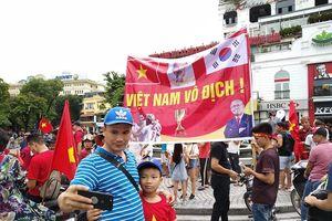 Người dân quê nhà tiếp sức, kỳ vọng bất ngờ trận Olympic Việt Nam - Olympic Hàn Quốc