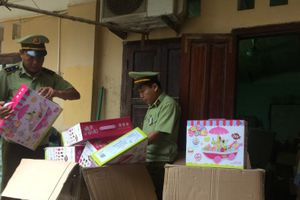 Lạng Sơn: Thu giữ lượng lớn đồ chơi trẻ em nhập lậu từ Trung Quốc