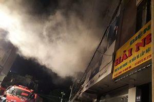 Thanh Hóa: Hỏa hoạn trong đêm, lửa rực đỏ bao trùm ngôi nhà 3 tầng