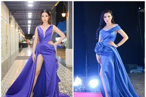 2 nàng hậu khoe chân trong mẫu váy xẻ cao ngút ngàn, Kỳ Duyên và Đỗ Mỹ Linh ai hấp dẫn hơn