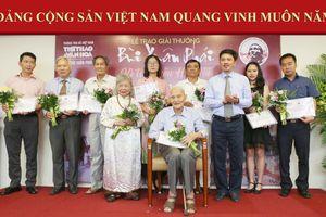 Ấm nồng lễ trao giải thưởng 'Bùi Xuân Phái- Vì tình yêu Hà Nội'