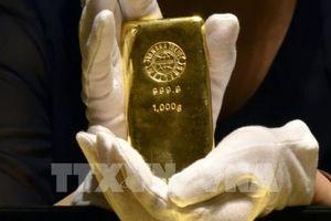 Giá vàng kỳ hạn thế giới đi xuống