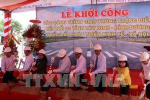Khởi công xây dựng tuyến đường kết nối Tây Ninh với Bình Dương