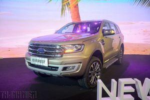 Ford Everest 2018 lắp động cơ mới về Việt Nam, giá từ 1,112 tỉ đồng