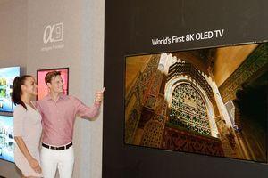 LG ra mắt TV OLED 8K đầu tiên trên thế giới