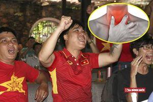 Trận Olympic Việt Nam - Hàn Quốc: Cần làm gì tránh nguy cơ khan tiếng suốt đời do hò hét?