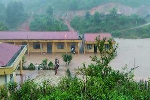 Hơn 700 học sinh tại Điện Biên phải nghỉ học do mưa lũ