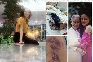 Gặp sự cố bất ngờ, Vy Oanh 'khóc ròng' vì phải bay 70 tiếng để kịp về dự lễ cúng 100 ngày của mẹ