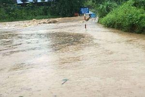Thái Nguyên: Nhiều tuyến đường bị cô lập do mưa lớn