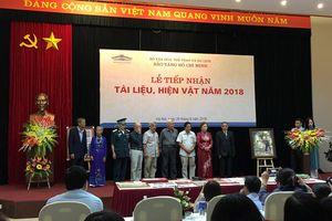 Tiếp nhận nhiều tài liệu, hiện vật gốc về Chủ tịch Hồ Chí Minh