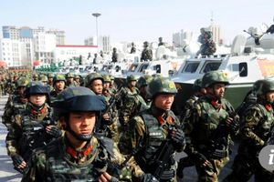 Trung Quốc xây dựng trại huấn luyện chống khủng bố tại Afghanistan